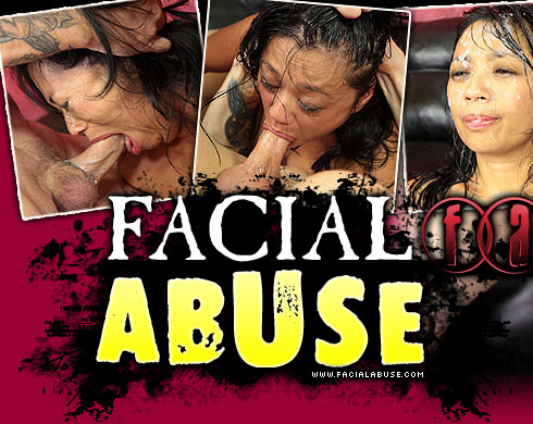 Facial Abuse Starring Lucky Starr